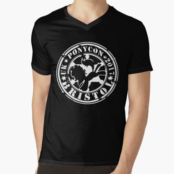 UK PonyCon 2017 Design V-Neck T-Shirt