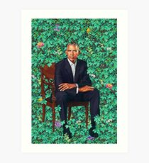 Obama-Porträt Kunstdruck