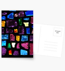 Stained Glass Windows Postcards
