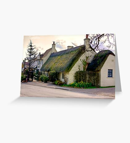 The Star Inn - Harome. Greeting Card