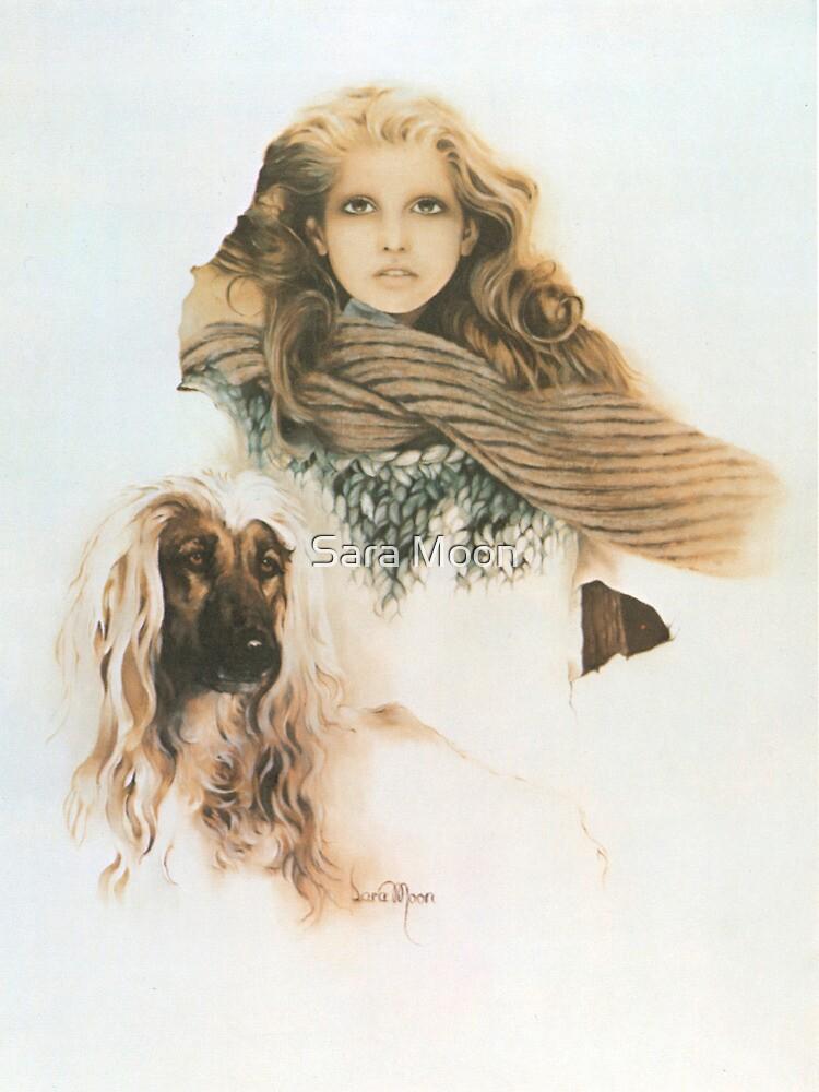 """Christine"" Oil on Canvas by Sara Moon"