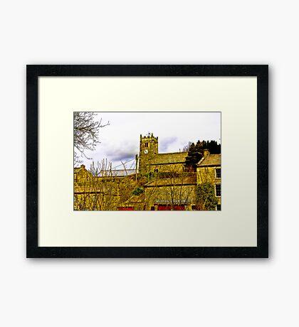 Muker Church Framed Print