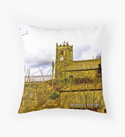 Muker Church Throw Pillow