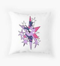 TwiStar Throw Pillow