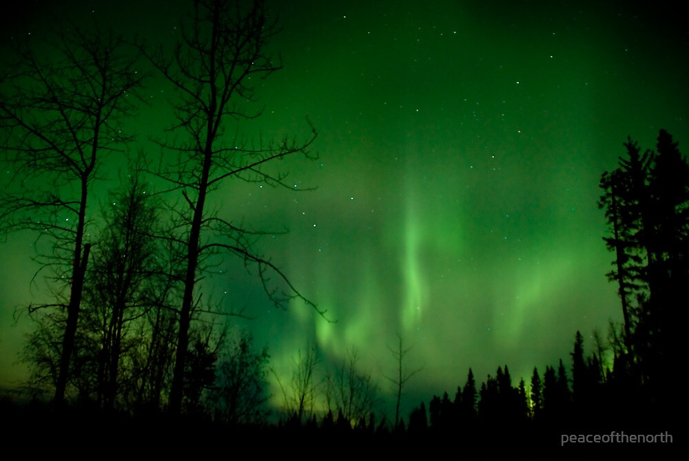 April 2nd/10 Auroras Part 3 by peaceofthenorth