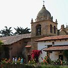 Carmel Mission Basilica by Marjorie Wallace