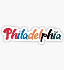 Philadelphia Sports Sticker