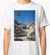 Boulders and Palm Trees Classic T-Shirt