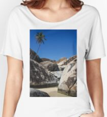 Boulders and Palm Trees Women's Relaxed Fit T-Shirt