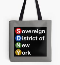 Sovereign District of New York Tote Bag