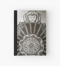 Wheel of fate Hardcover Journal