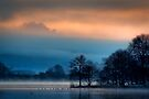 The 'Quack' of dawn... Lake of Mentieth by David Mould
