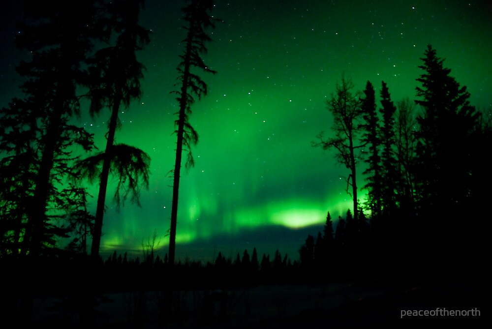 April 2nd/10 Auroras...The End by peaceofthenorth
