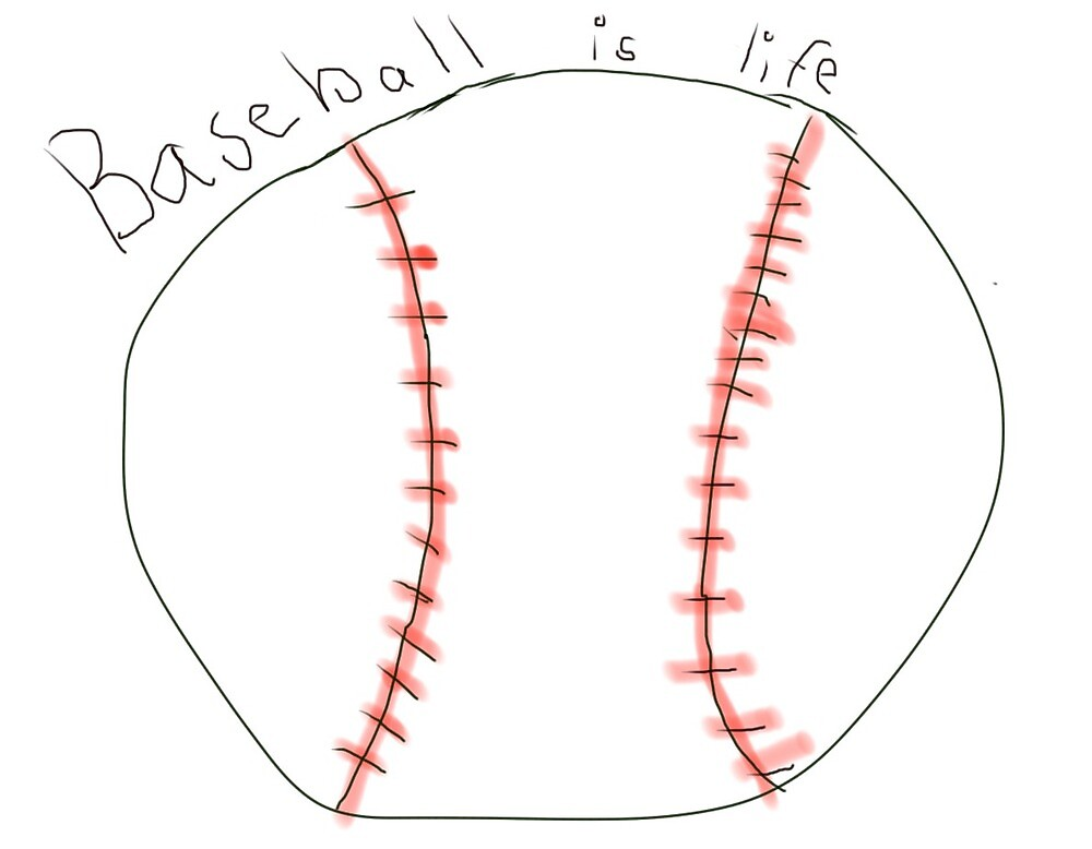 BASEBALL IS LIFE! by Artsy8196