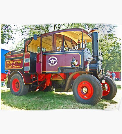 Foden C Type Poster
