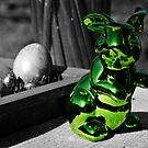 Green Bunny by Dirk Pagel