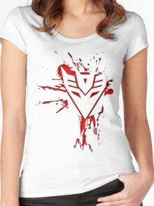 Decepticons Rise  Women's Fitted Scoop T-Shirt