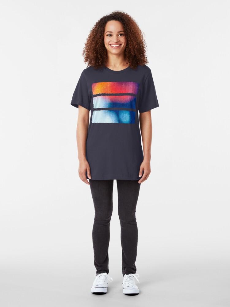 Alternate view of BLUR / Burning Ice Slim Fit T-Shirt