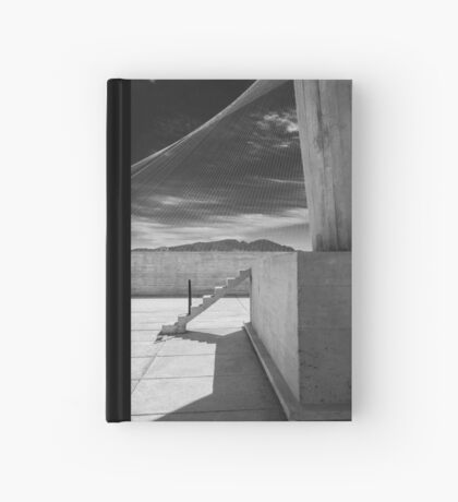 On the roof of Le Corbusier's Unité d'Habitation in Marseille - 4 Hardcover Journal