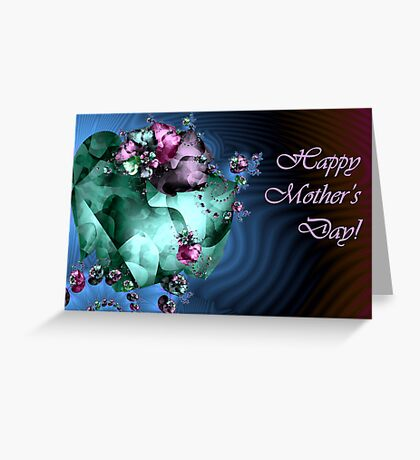 Heart Garden - Mother's Day card Greeting Card
