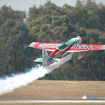 VH-PIP Take-off, Albury Airshow, Australia 2008 by muz2142