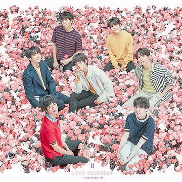 BTS 2019 - Cartel de la gira Hable usted mismo / Tapiz de pared de KpopTokens