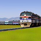 Amtrak Autumnal by Rorymacve