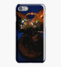 Christmas Lights on Ferryquay Street, Derry iPhone Case/Skin