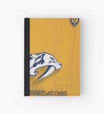 Nashville Predators Minimalist Print Hardcover Journal
