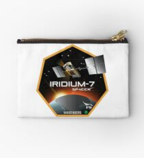 Iridium Next Launch 7 Program Logo Studio Pouch