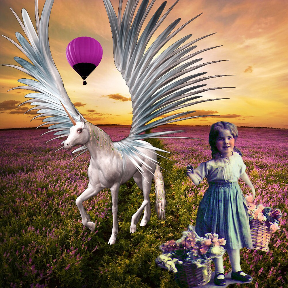 FLOWERS AND FANTASIES 3 by Tammera