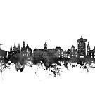 amsterdam skyline by BekimART