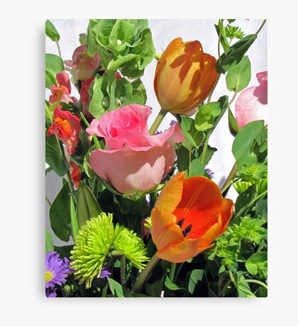 Birthday Blooms Canvas Print