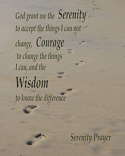 Serenity Prayer by Bob Sample