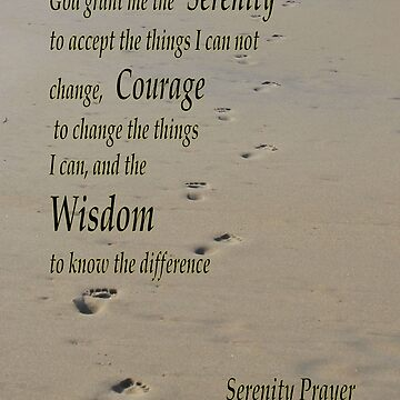 Serenity Prayer by bsample