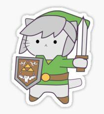 Link Cat Sticker
