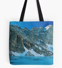 Blue Chasm Tote Bag