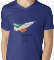 BBMP Tejas Take Off - Indian Jet Fighter T-Shirt mit V-Ausschnitt für Männer