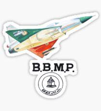 BBMP Tejas Take Off - Indian Jet Fighter Sticker