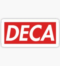 DECA Sticker, DECA shirt,  Sticker