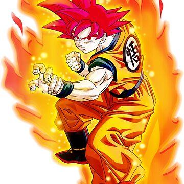 Son Goku Saiyan Dios DBS by Davidisla39