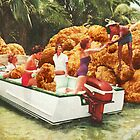 Fried chicken drive-thru by VertigoA