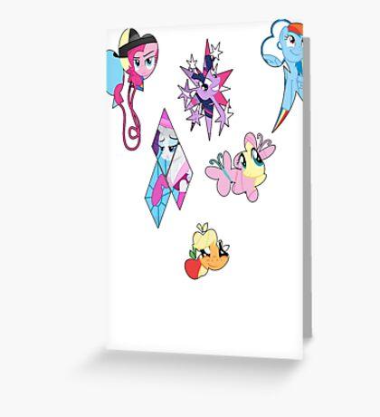 <3 Mane6 Greeting Card