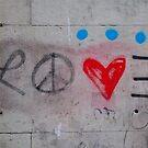 «Amor en graffiti» de Sean Sweeney