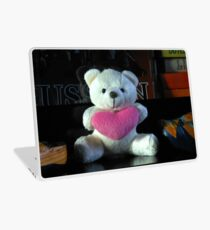 Dreisprachiger Teddy Laptop Folie