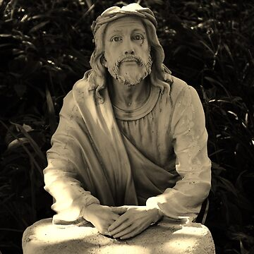 Jesus Praying In The Garden by bsample