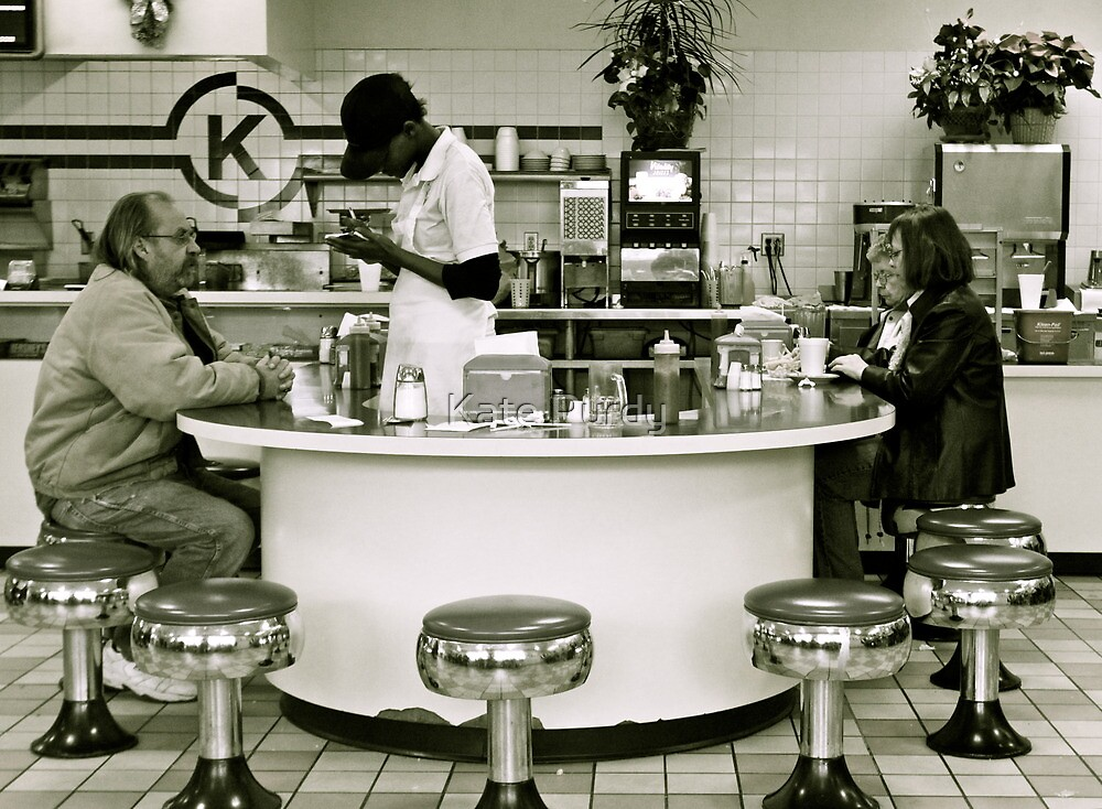 Lunch on Saturday by Kate Purdy