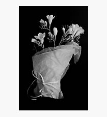 Flowers from a friend Photographic Print