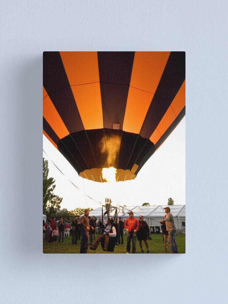Alternate view of Canberra Balloon Festival 2010 Canvas Print