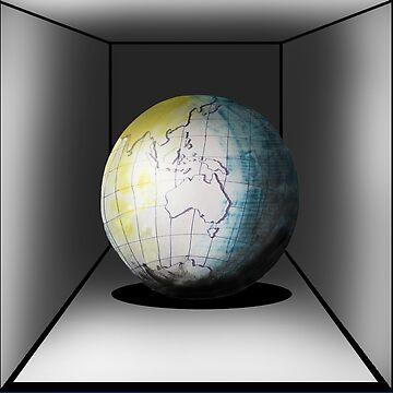 Globe in a box - seriously! by davidfraser